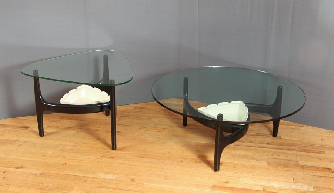 2 Mid Century Modern Planter Coffee Tables