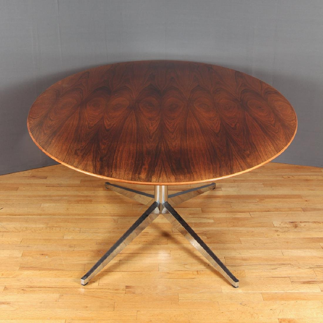 Florence Knoll Rosewood Dining Conference Table - 2