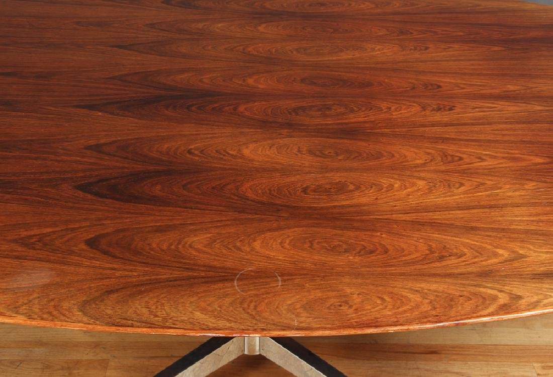Florence Knoll Rosewood Dining Conference Table - 4