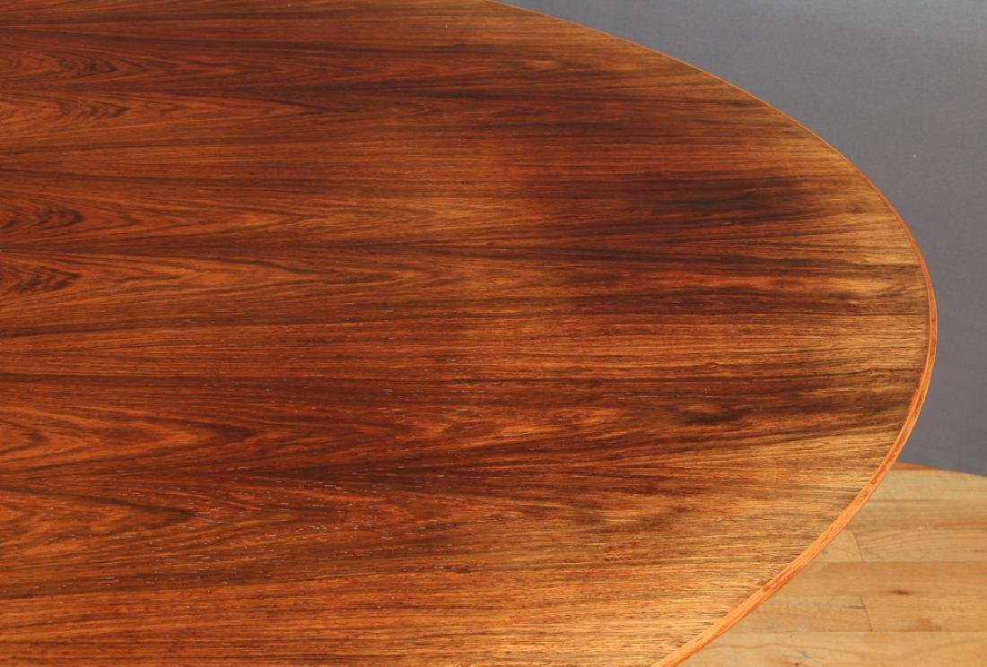 Florence Knoll Rosewood Dining Conference Table - 5