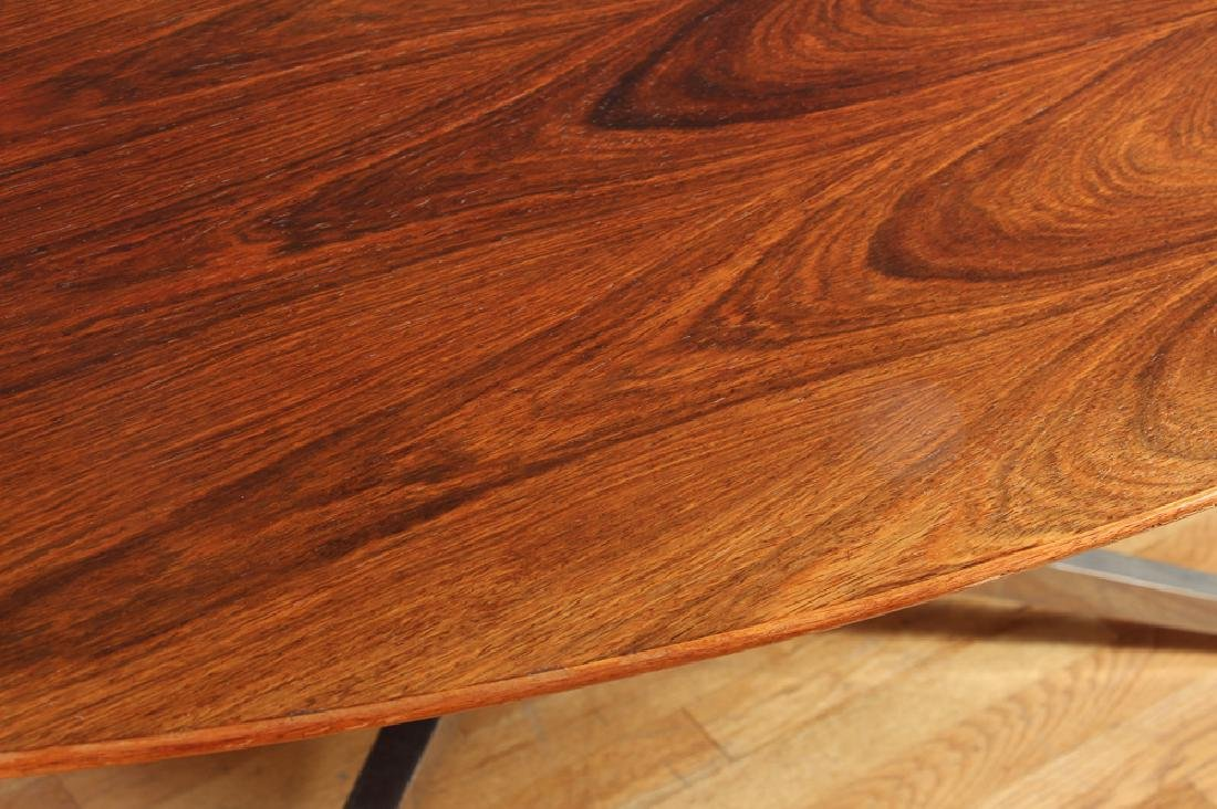 Florence Knoll Rosewood Dining Conference Table - 6