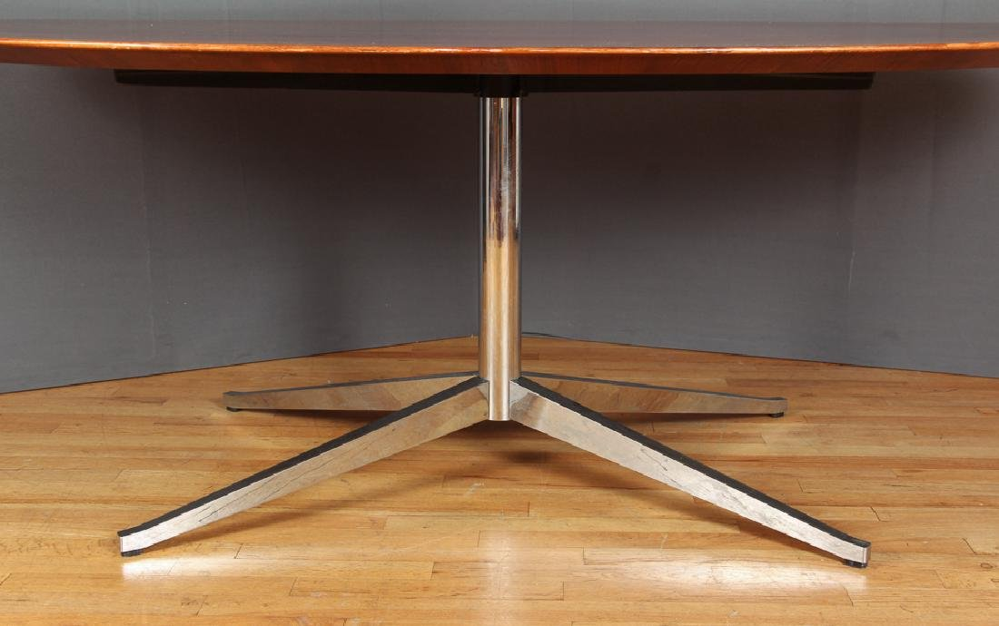 Florence Knoll Rosewood Dining Conference Table - 7