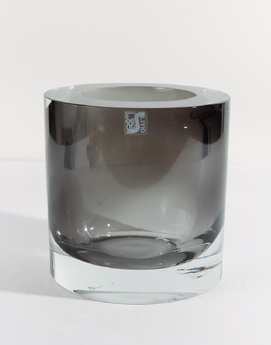 Livio Seguso Murano Glass Vase - 2