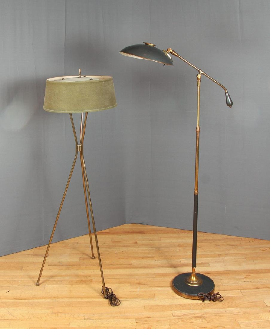 Two Gerald Thurston Style Lamps