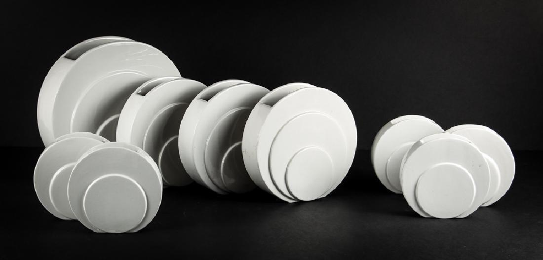 Nine Trenton Pottery Art Deco Syle  Vases
