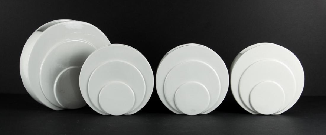 Nine Trenton Pottery Art Deco Syle  Vases - 2