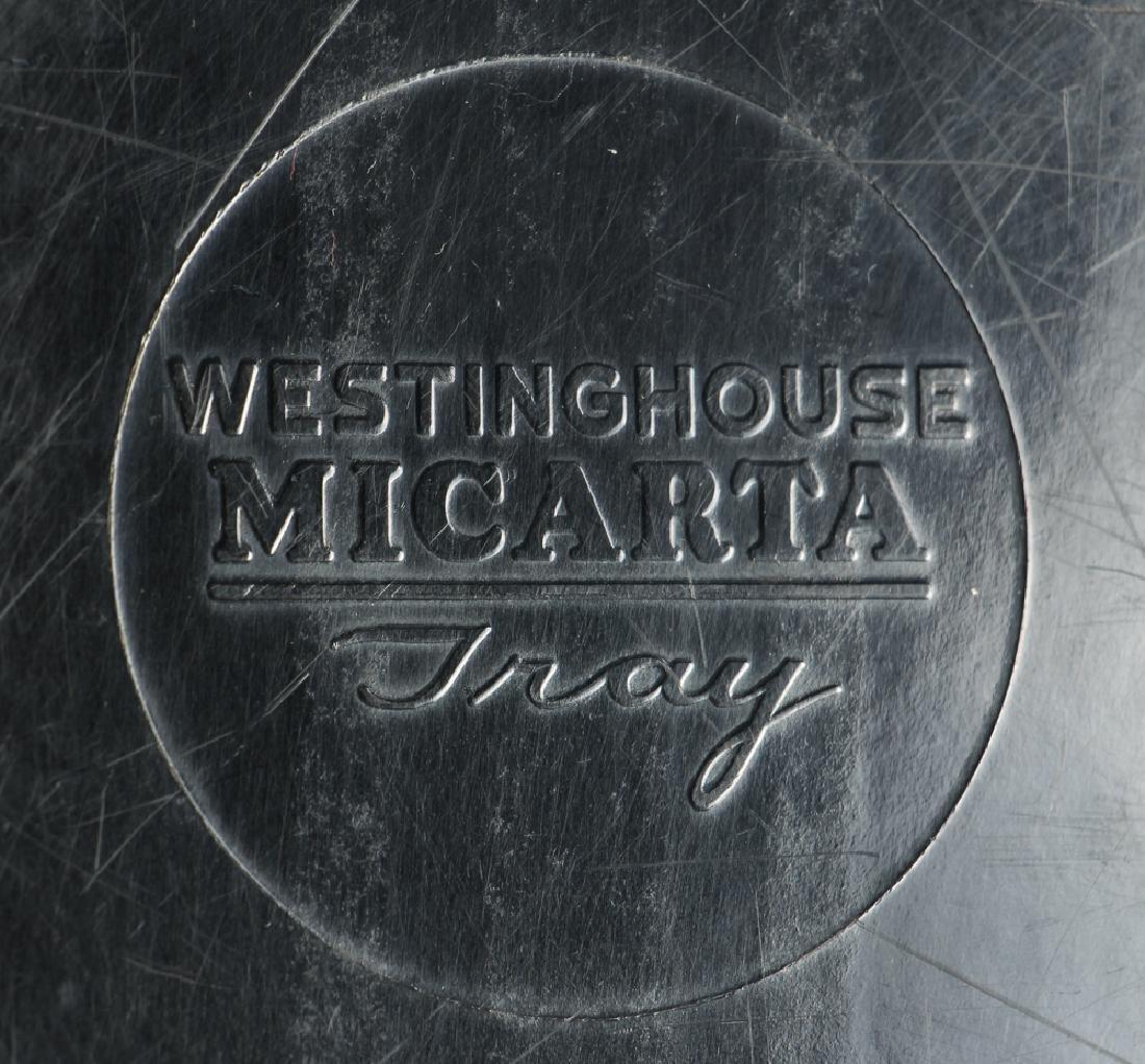 Four Westinghouse Micarta Trays - 4