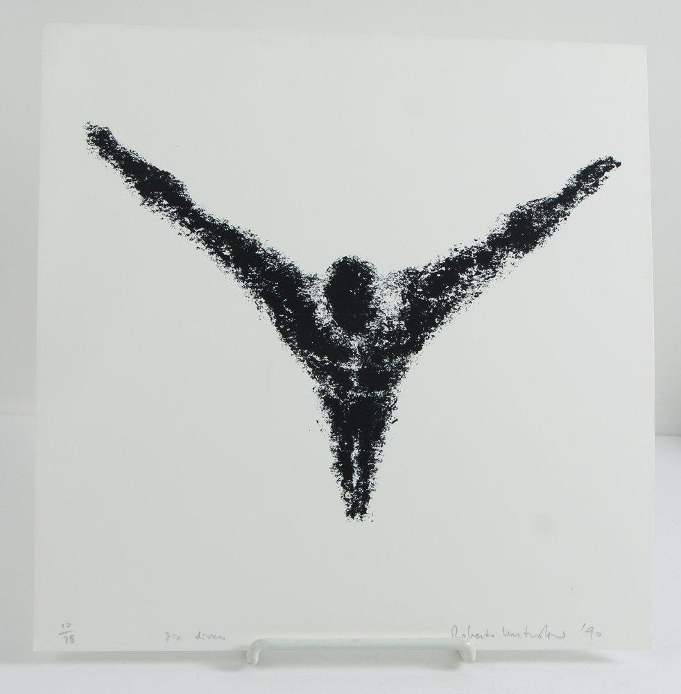 Six Divers 1990 original lithographs Unidentified maker - 4