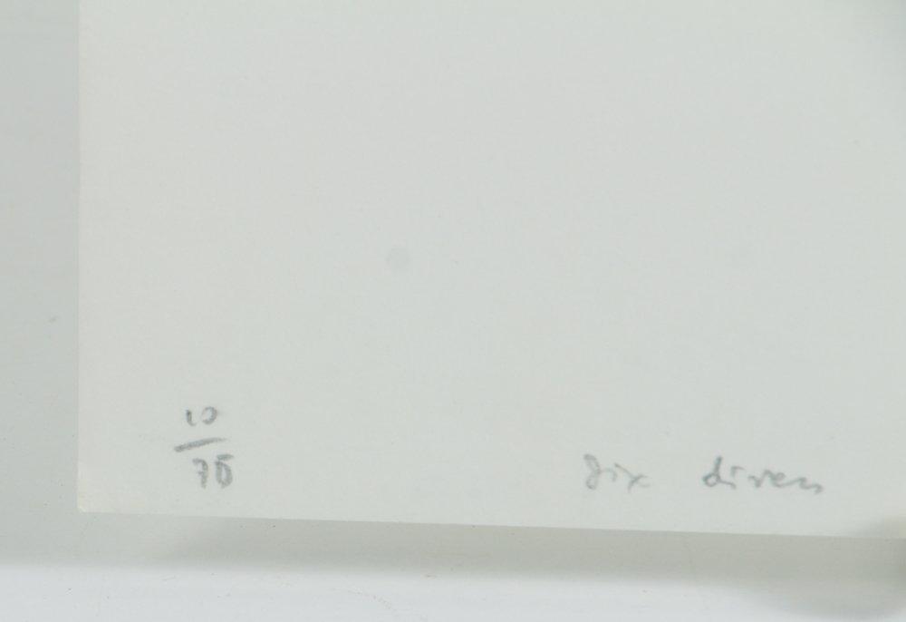 Six Divers 1990 original lithographs Unidentified maker - 5