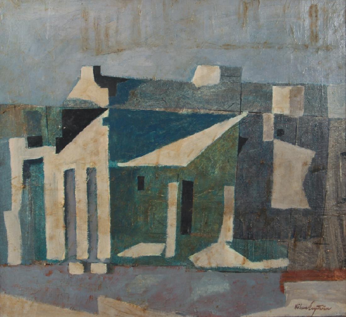 20th Century Cubist Abstraction Reflexer