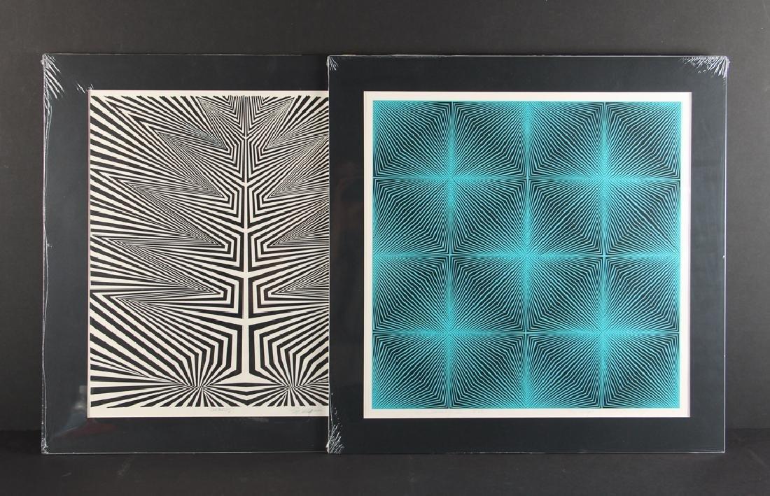 Three Roy Ahlgren Color Screen Prints