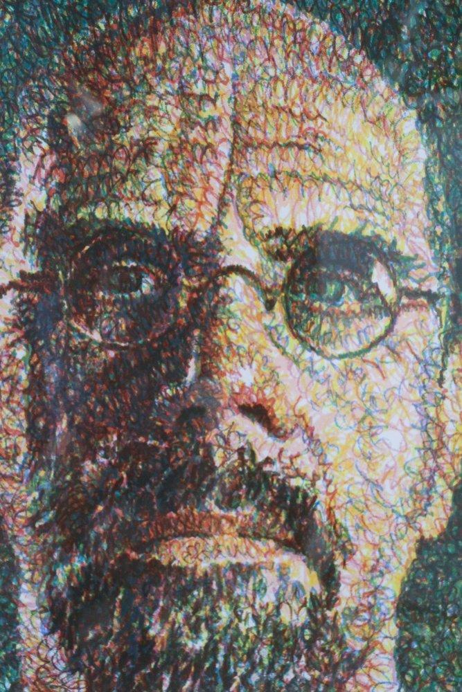 CHUCK CLOSE Self Portrait, Scribble, 2007,  lithograph - 3