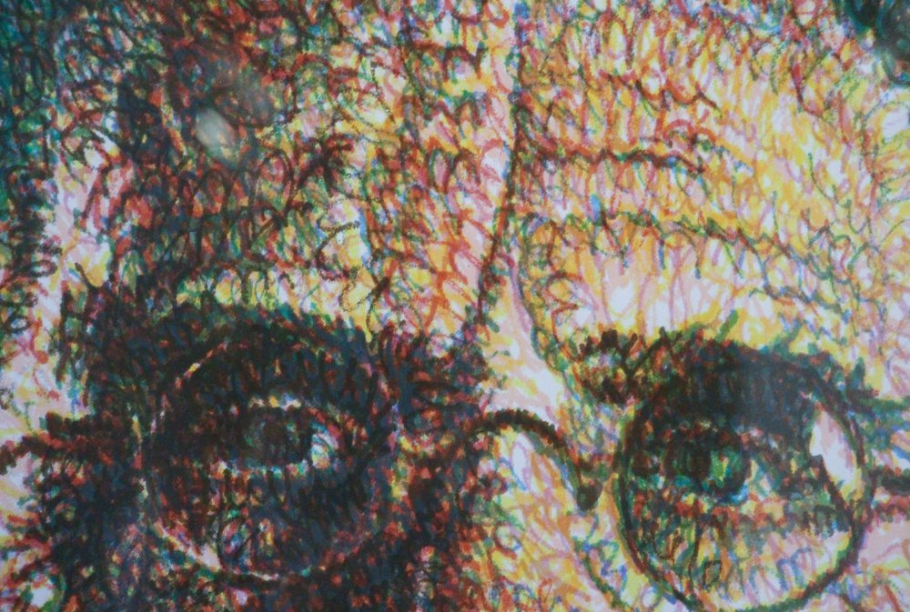 CHUCK CLOSE Self Portrait, Scribble, 2007,  lithograph - 4