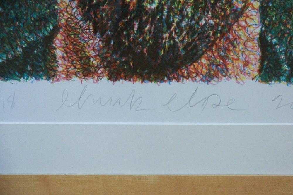 CHUCK CLOSE Self Portrait, Scribble, 2007,  lithograph - 5