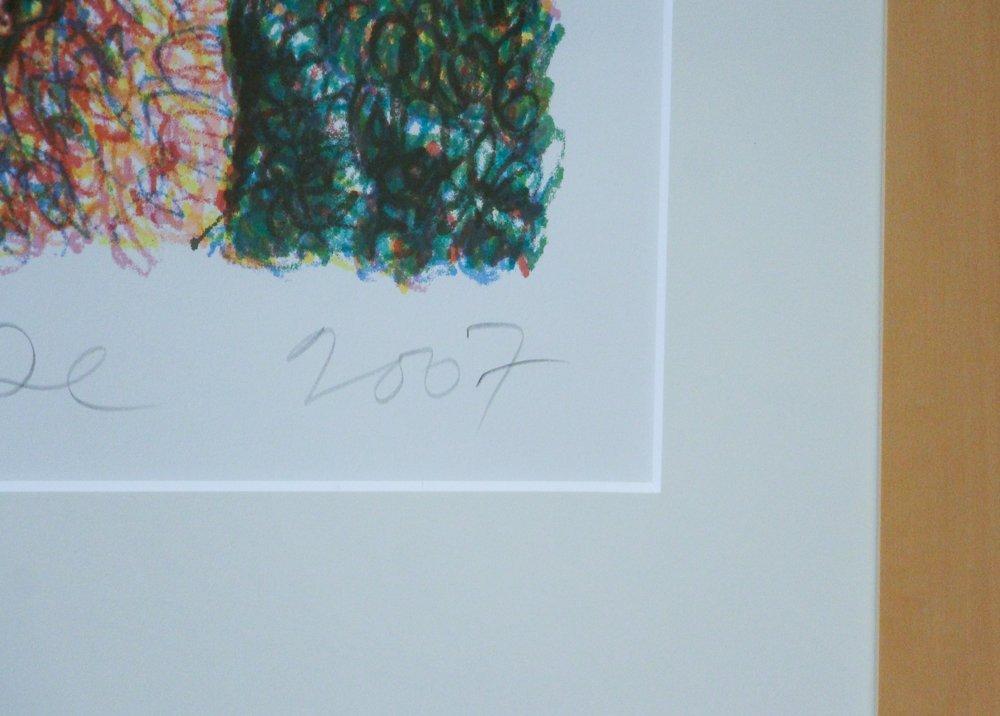 CHUCK CLOSE Self Portrait, Scribble, 2007,  lithograph - 6