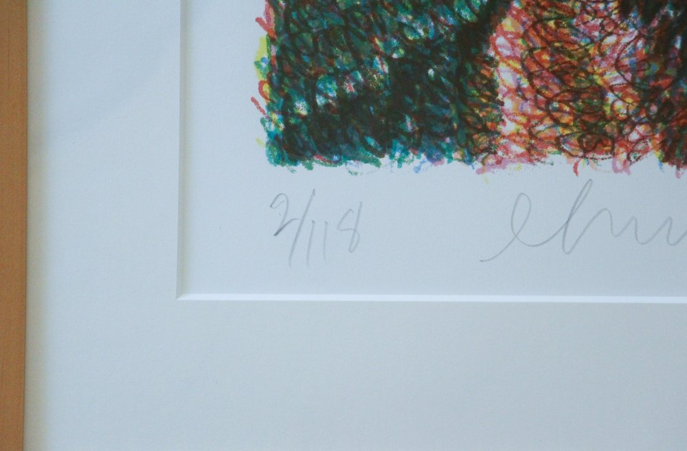 CHUCK CLOSE Self Portrait, Scribble, 2007,  lithograph - 7