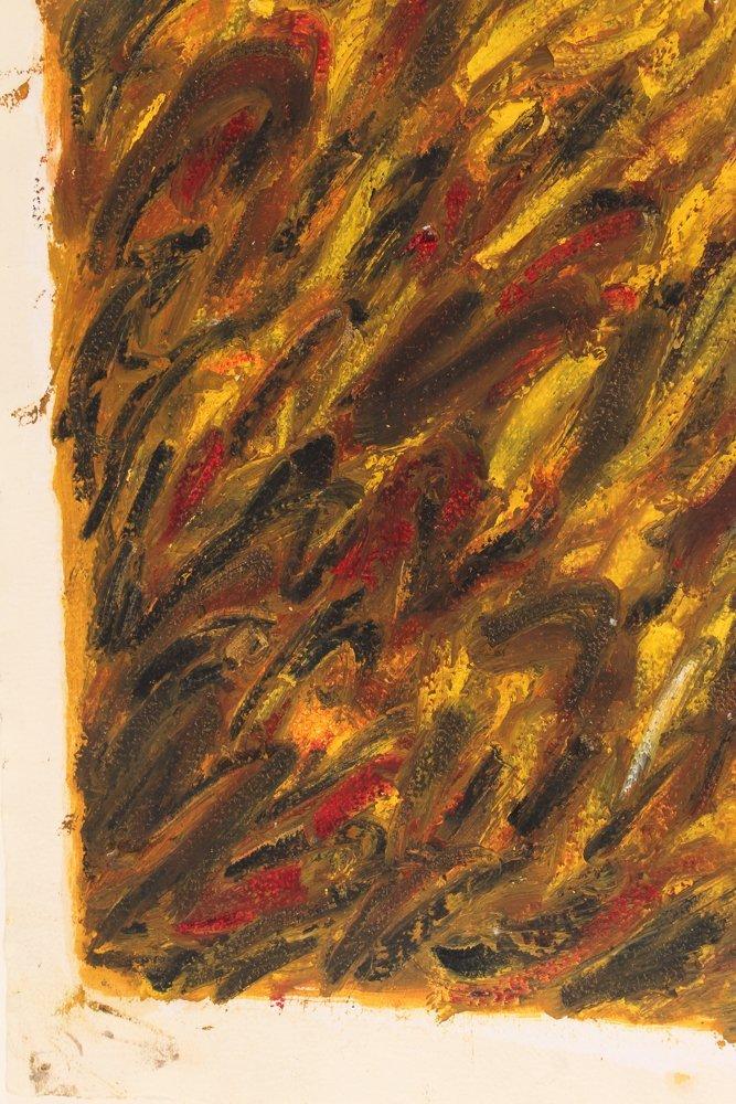 John Edwards (British) Untitled ptg. On paper 1980 - 7
