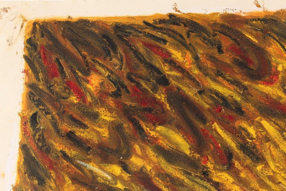 John Edwards (British) Untitled ptg. On paper 1980 - 8