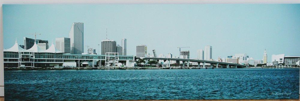Graham Flint gigapxl triptych Miami Skyline 2005