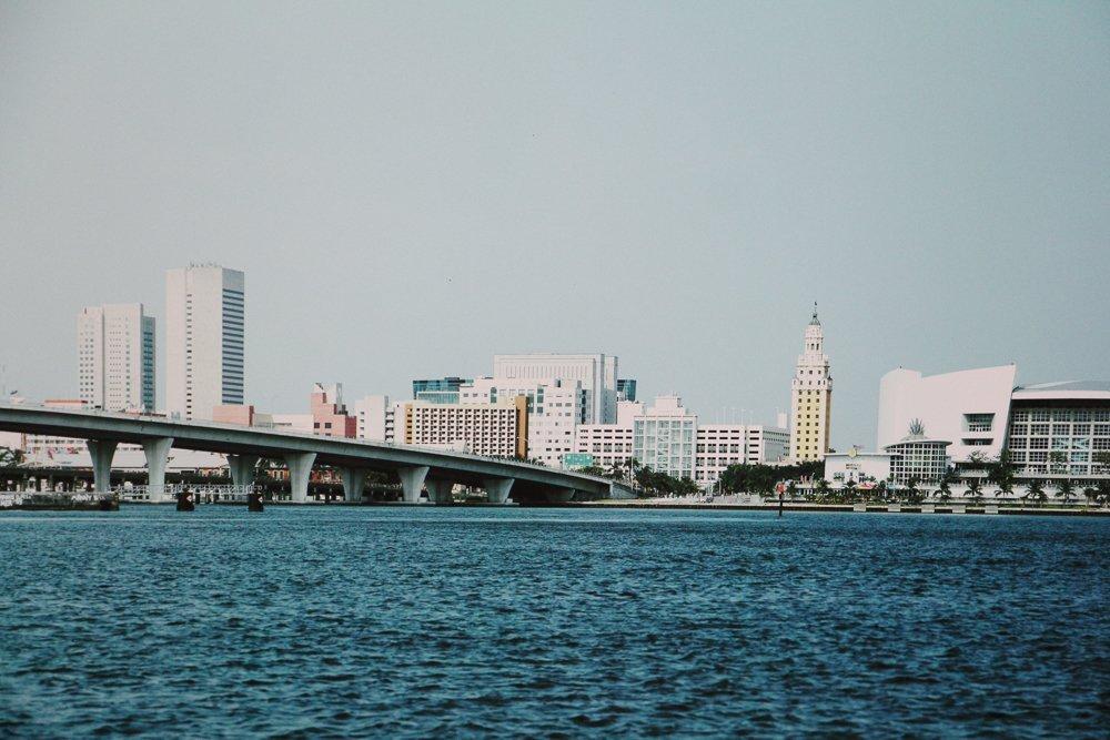 Graham Flint gigapxl triptych Miami Skyline 2005 - 3
