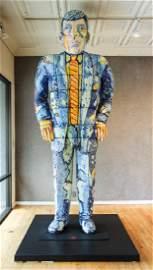 Viola Frey ceramic Big Man Sculpture