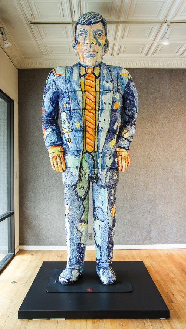 Viola Frey ceramic Big Man Sculpture