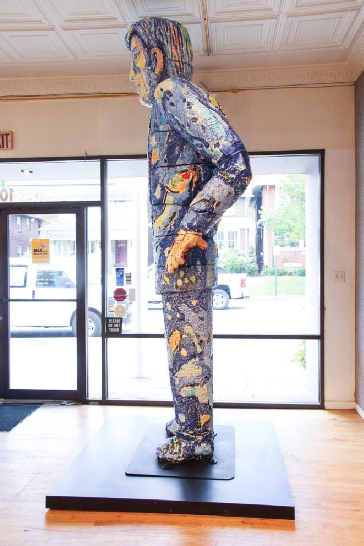 Viola Frey ceramic Big Man Sculpture - 2