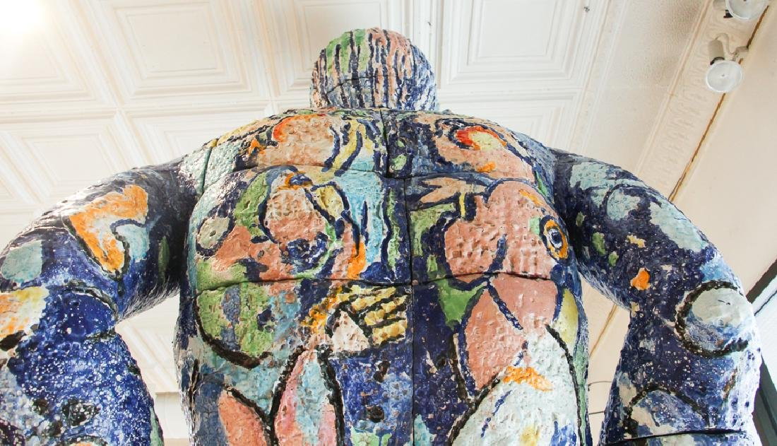 Viola Frey ceramic Big Man Sculpture - 3