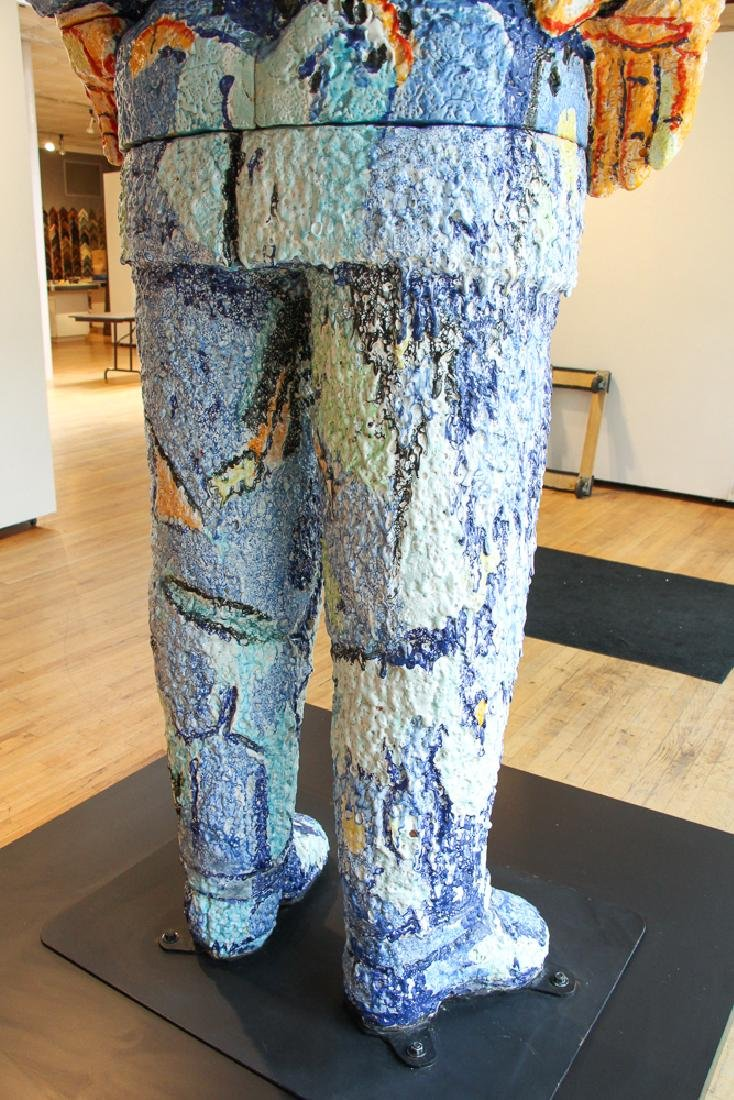 Viola Frey ceramic Big Man Sculpture - 4
