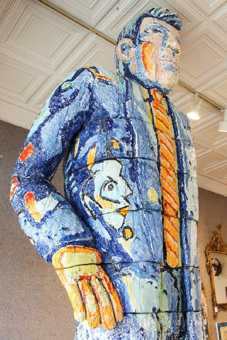 Viola Frey ceramic Big Man Sculpture - 5
