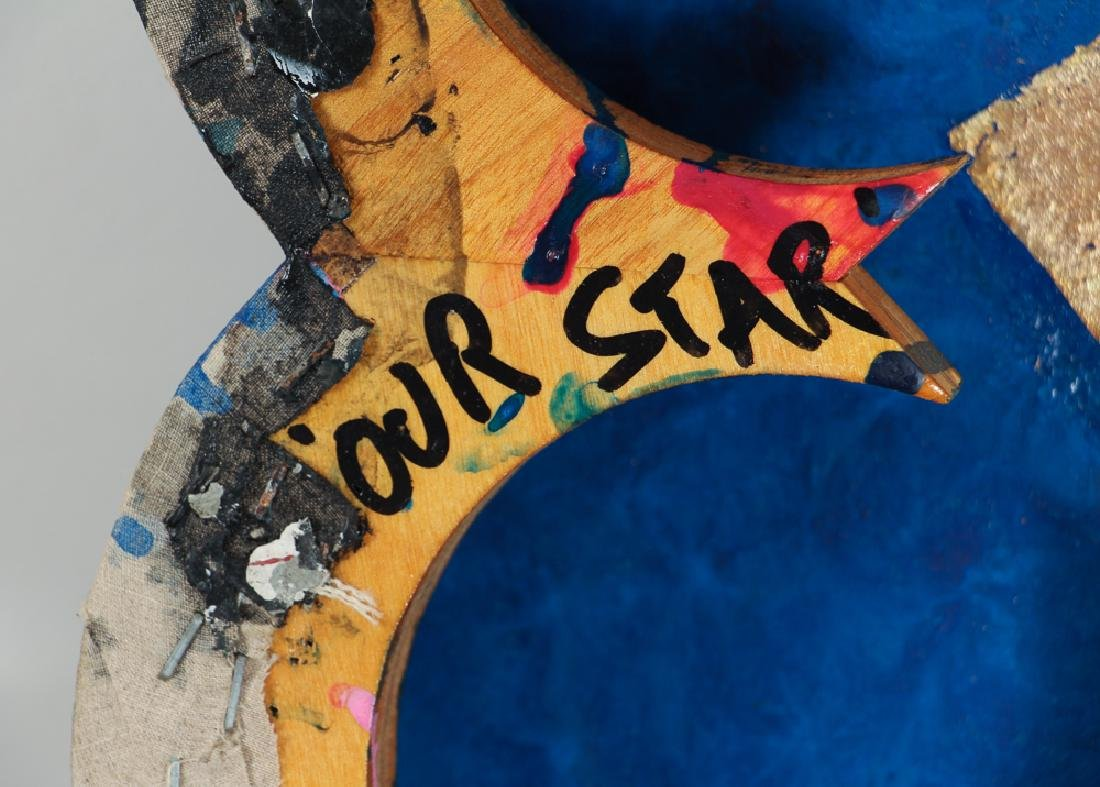 Max Gimblett 1988 painting Our Star - 9