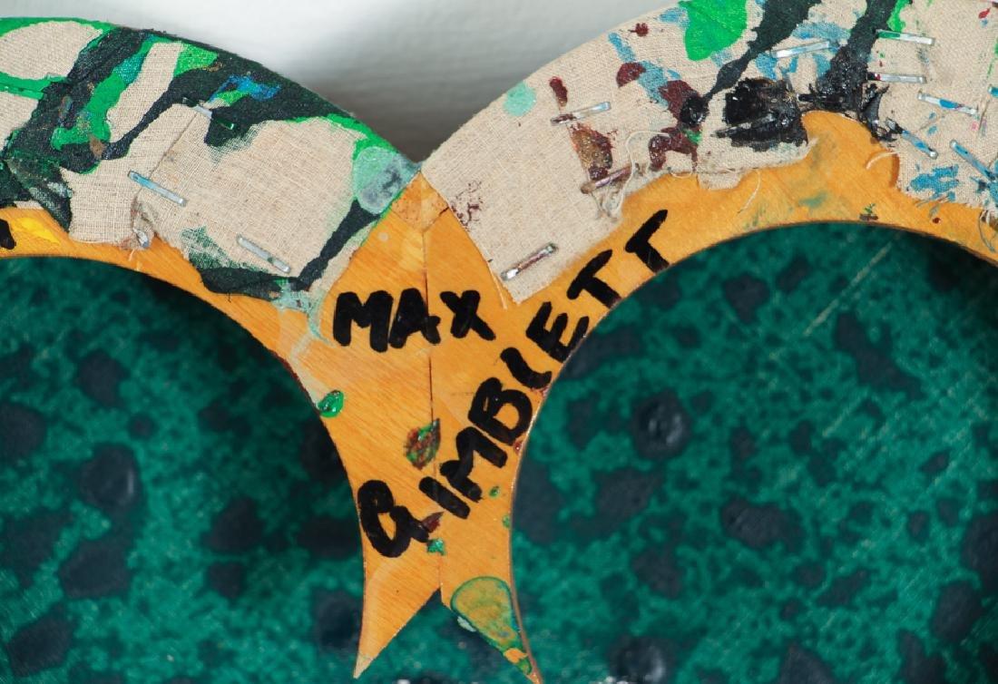 Max Gimblett 1988 ptg The Being of Light - 8