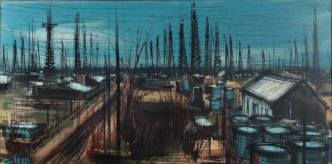 Michelle Girard Oilfield Painting