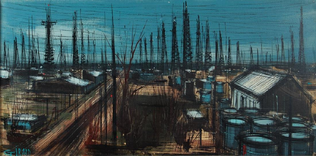 Michelle Girard Oilfield Painting - 3