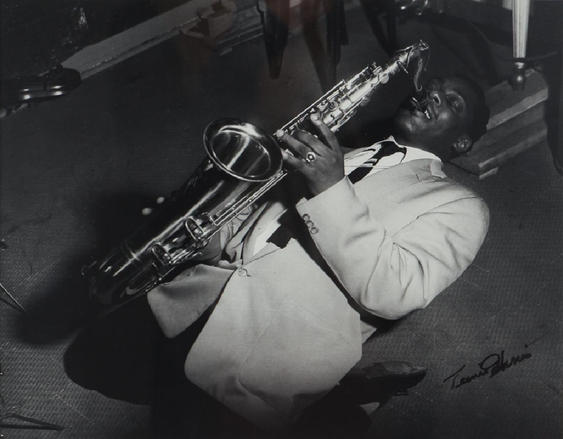 Charles Teenie Harris Jazz Saxophonist Photograph