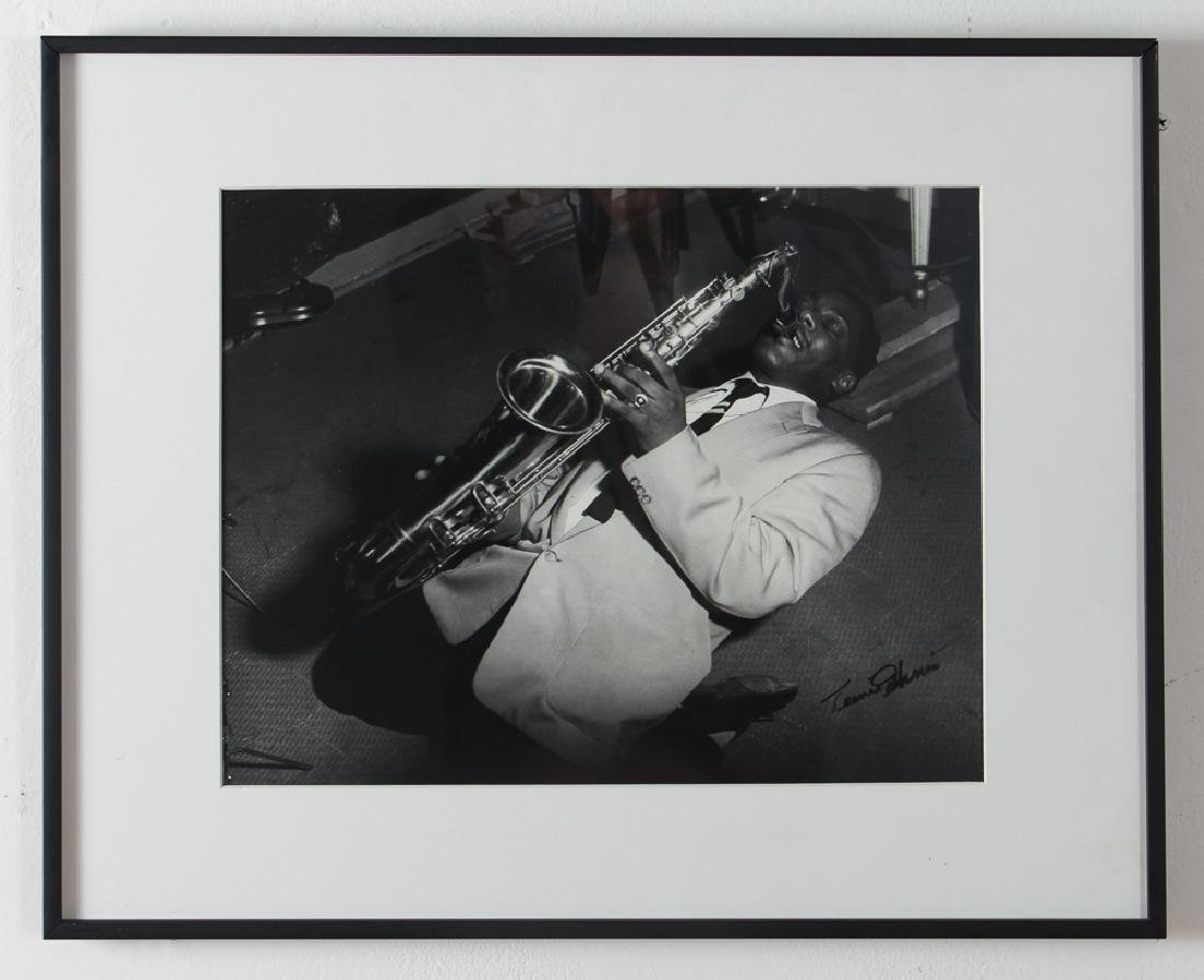Charles Teenie Harris Jazz Saxophonist Photograph - 2