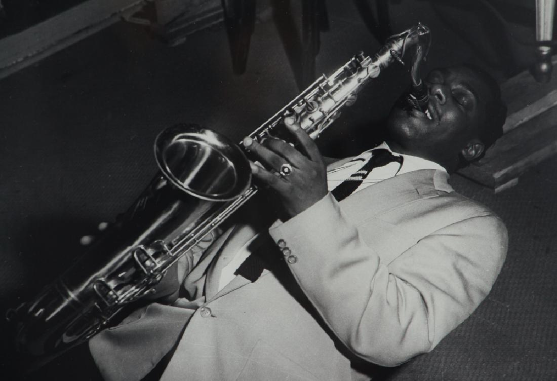 Charles Teenie Harris Jazz Saxophonist Photograph - 3