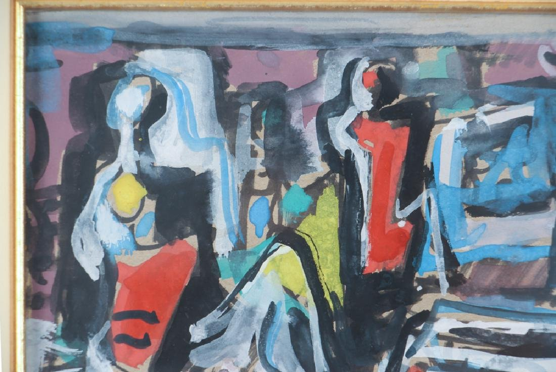 Branko Kovacevic painting Figures in an Interior - 5