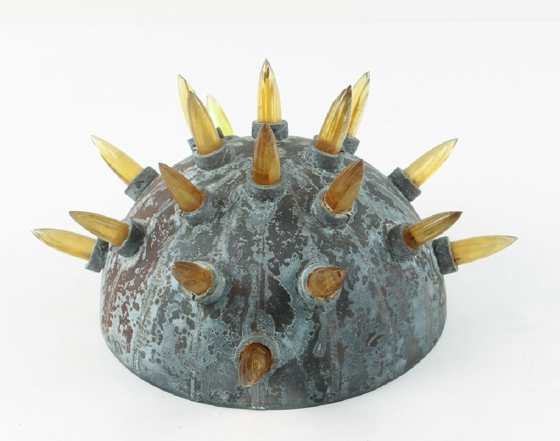 Christopher Lee glass sculpture Star Bomb - 2