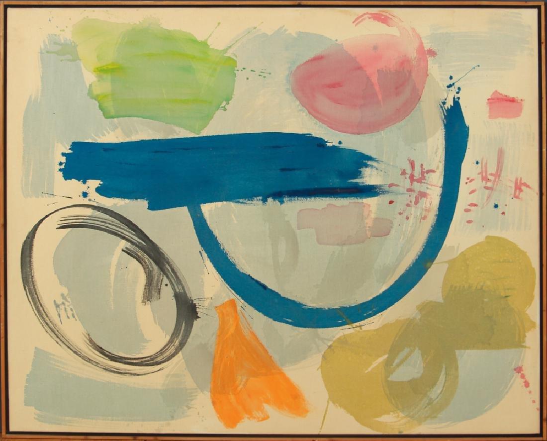 Mali Morris 1980 painting  Cyprus Sea