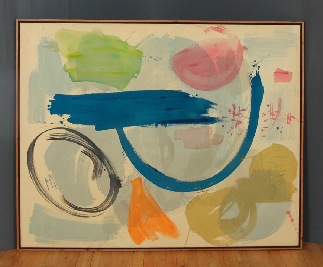 Mali Morris 1980 painting  Cyprus Sea - 2