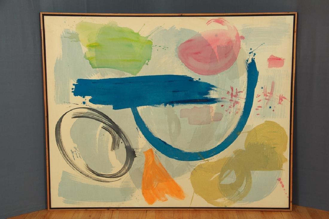 Mali Morris 1980 painting  Cyprus Sea - 4