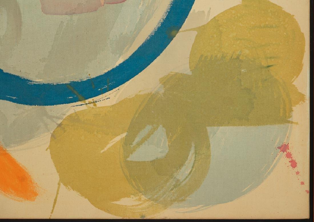 Mali Morris 1980 painting  Cyprus Sea - 5