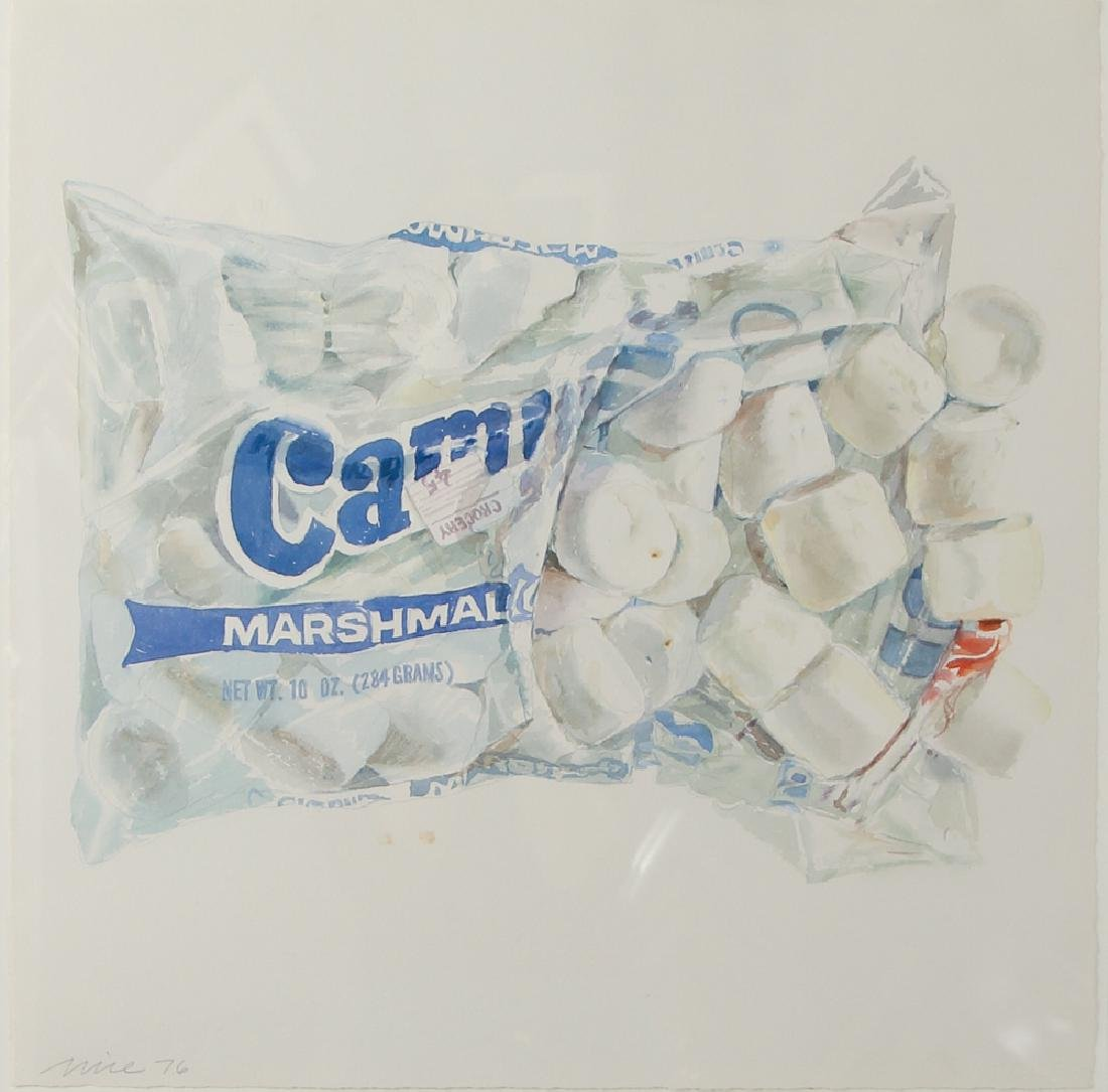 Don Nice 1976 watercolor Marshmallow
