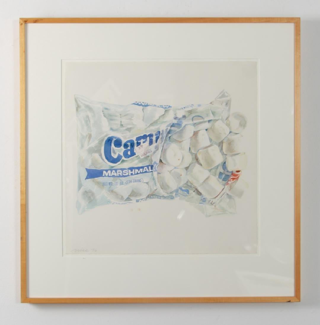 Don Nice 1976 watercolor Marshmallow - 2