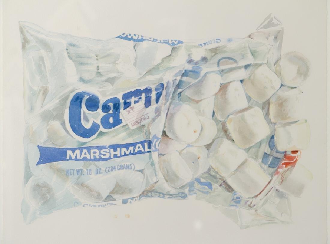 Don Nice 1976 watercolor Marshmallow - 3