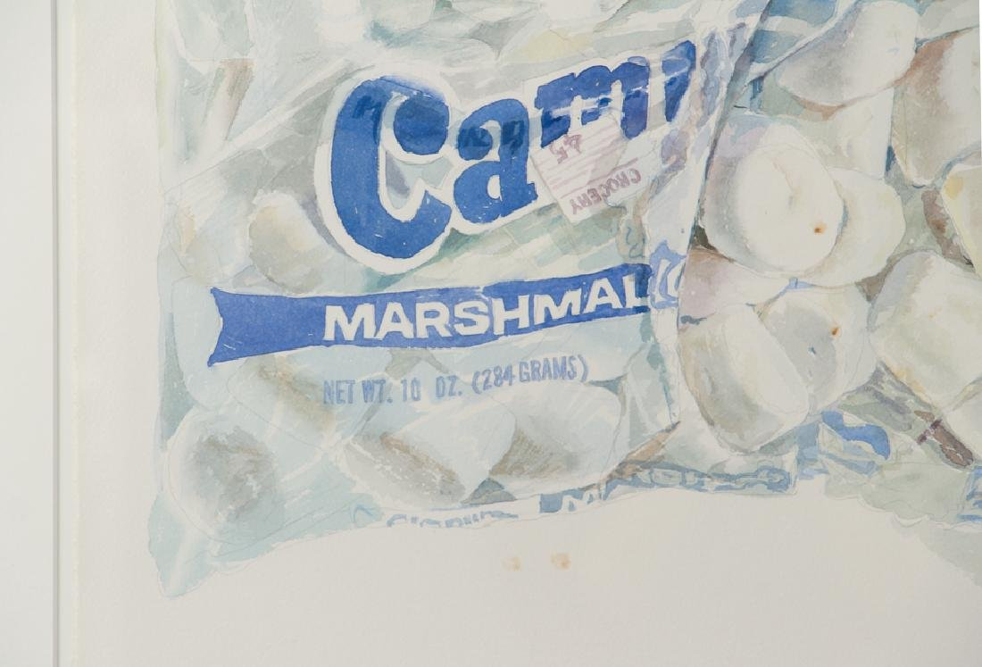 Don Nice 1976 watercolor Marshmallow - 4