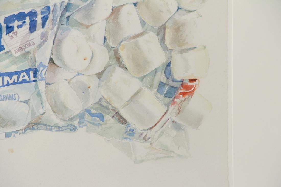 Don Nice 1976 watercolor Marshmallow - 5