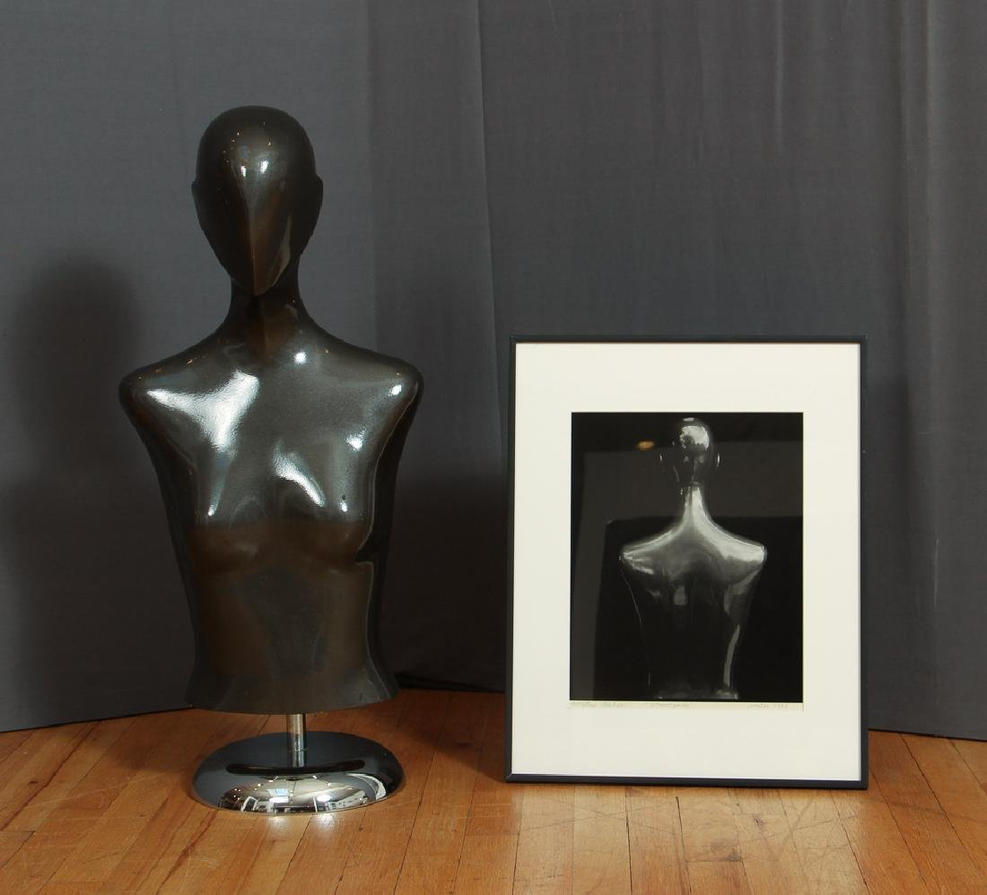 Martin Prekop Silver Gelatin Photo and Mannequin