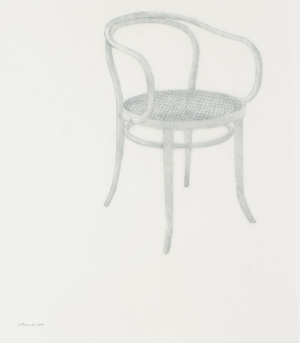 Harry Schwalb 2000 drawing Throne